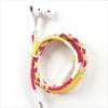 Colorful Braided Earbuds - Maya