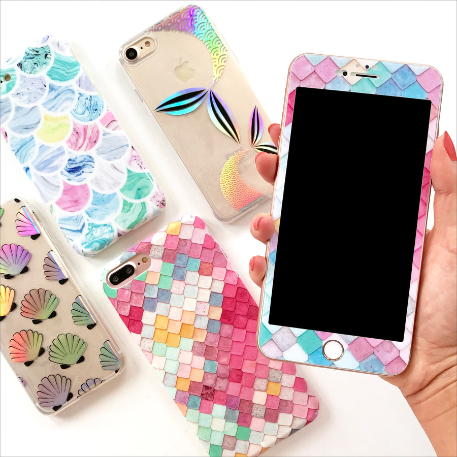 Phone Case Set - Mermaid Scales