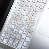 Macbook Keyboard Cover - Metallic Mandala