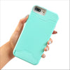 Mint Secret Card Slot Phone Case
