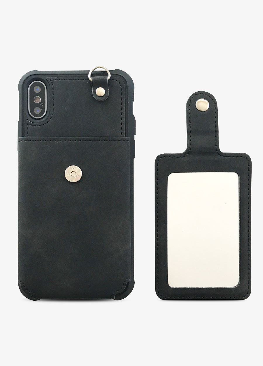 Black Mirror Card Phone Case