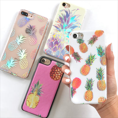 Holo Pineapple Fever Phone Case