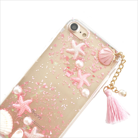 Pink Beach Phone Case