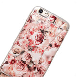 Floral Wallet Phone Case in Pink