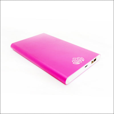 Pink Portable Power Bank Charger - 6000 mAh
