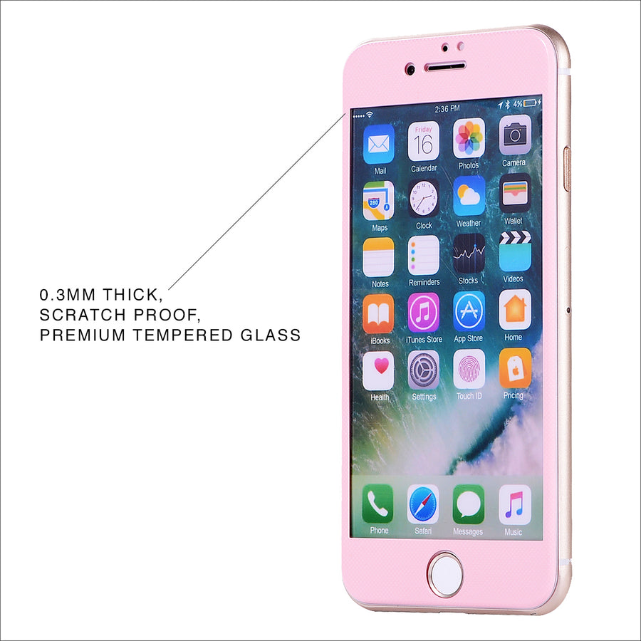 Pink Glass Screen Protector