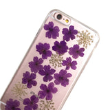 Pressed Purple Violets Phone Case