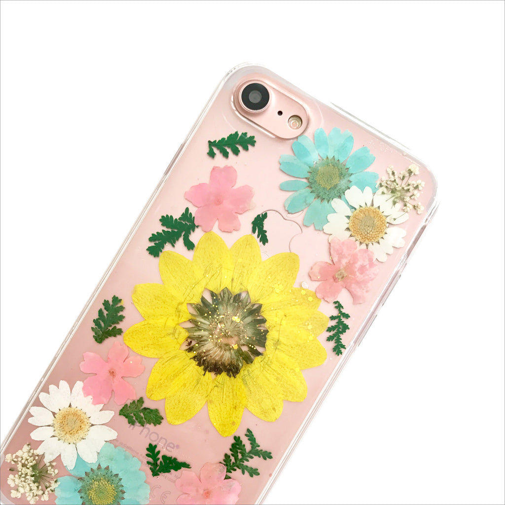 Pressed Sunshine Floral Phone Case