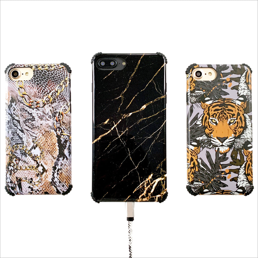 Snakes & Chain Protector Phone Case