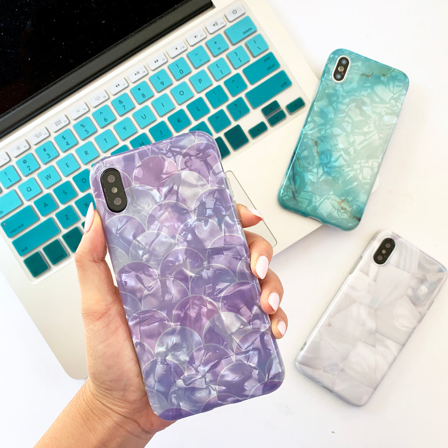Purple Mermaid Phone Case