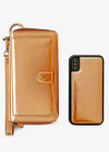 Ultimate Wristlet Phone Case in Bronze
