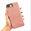 Rose Gold Secret Card Slot Phone Case