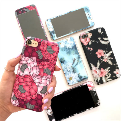 Phone Case Set - Peonies
