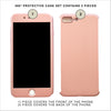 Rose Gold 360º Protective Case Set