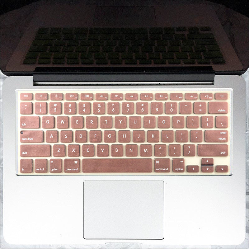 Macbook Keyboard Cover - Rose Gold