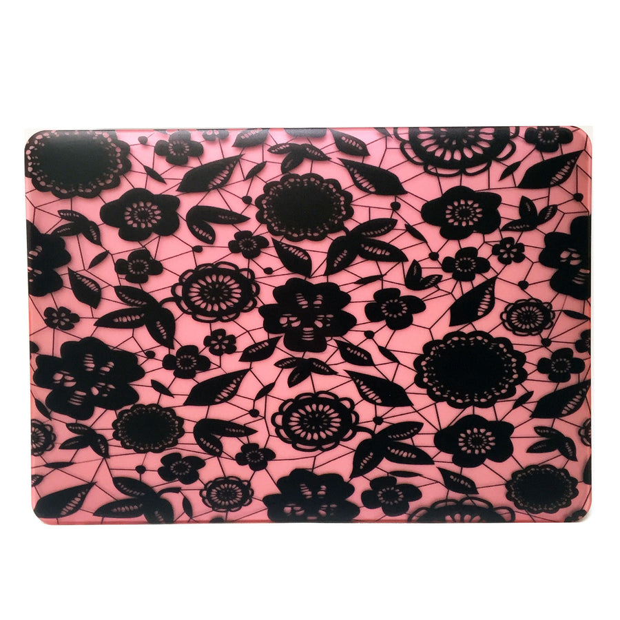 Rose Lace Floral Macbook Protective Case