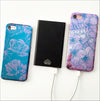 Black Rose Shimmer Phone Case