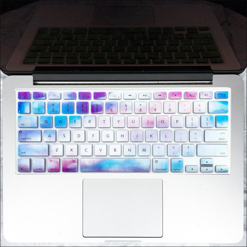 official photos 9b231 60273 Macbook Keyboard Cover - Sky Marble - mahalocases