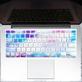 Macbook Keyboard Cover - Sky Marble