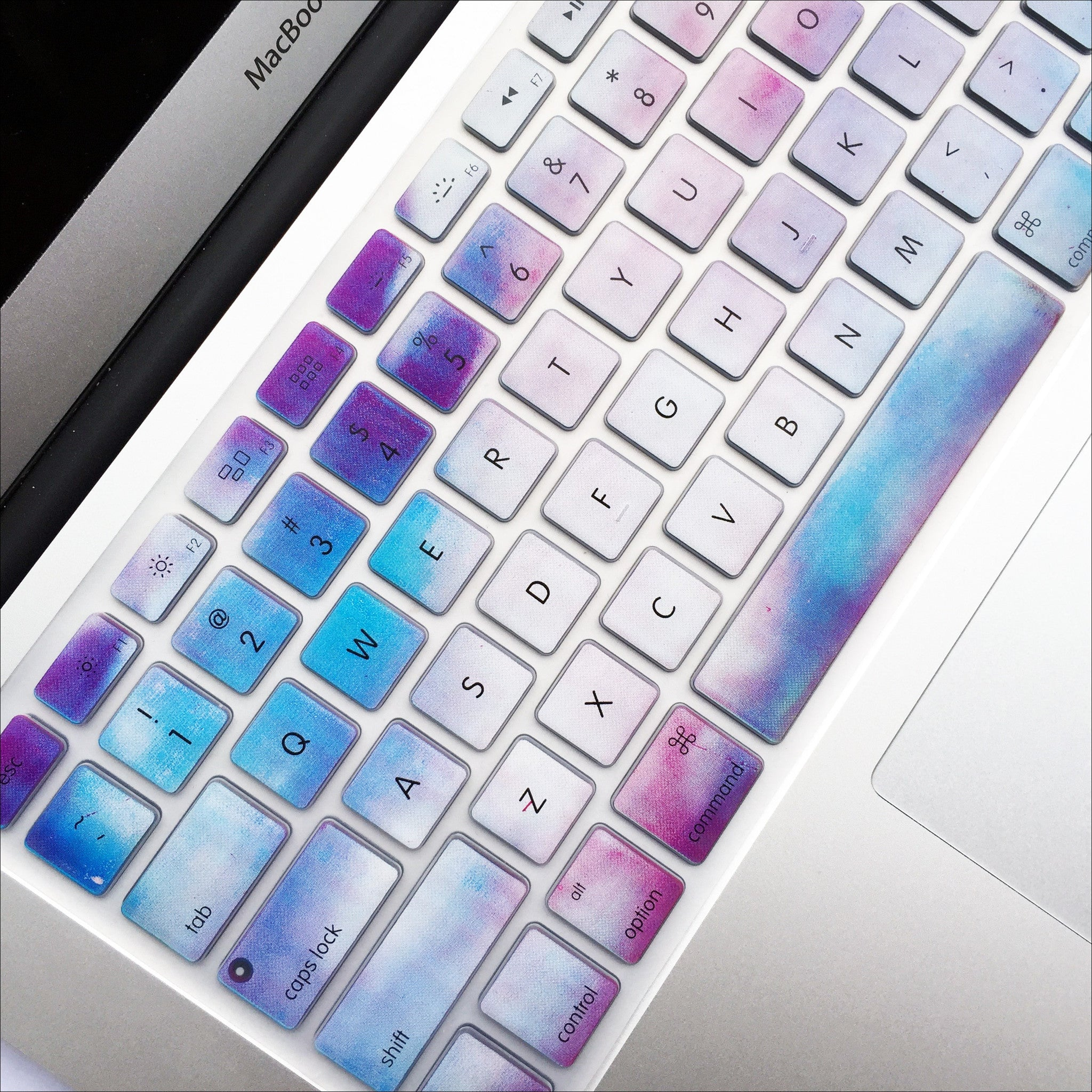 Food Book Cover Keyboard : Macbook keyboard cover sky marble mahalocases