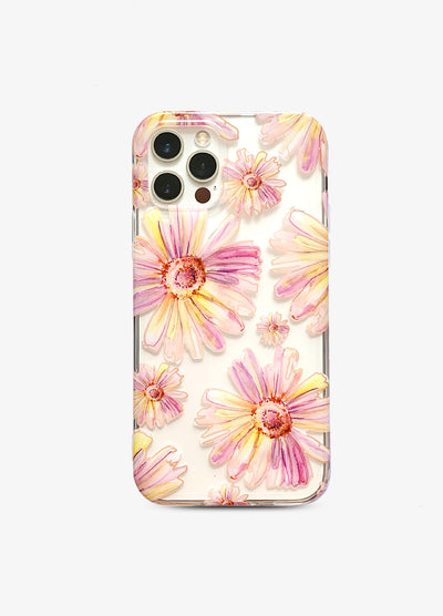 Sunshine Daisies Clear Phone Case