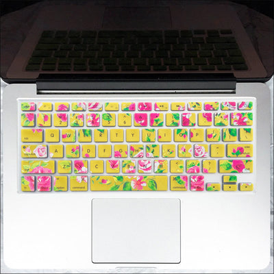 Macbook Keyboard Cover - Sunshine & Roses