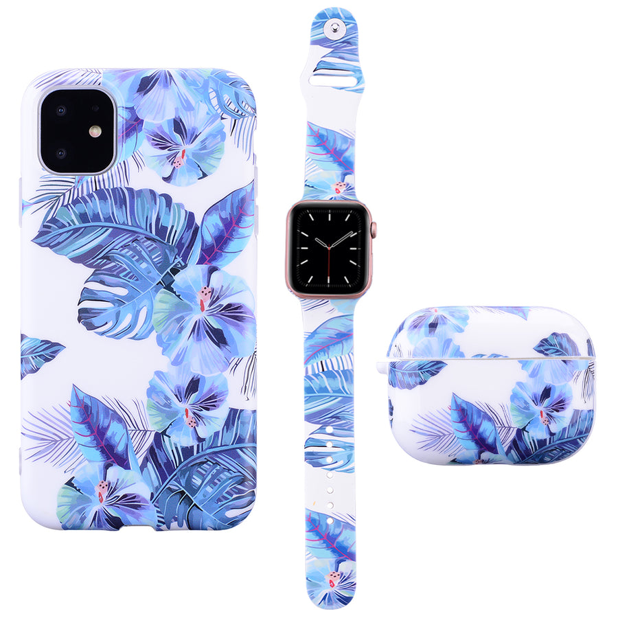 Blue Tropic Phone Case