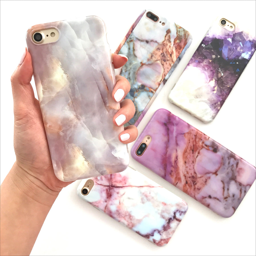 Taupe Marble Phone Case