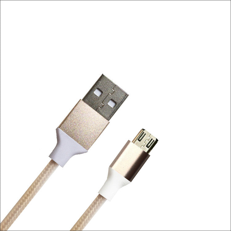 micro USB Cable - Taupe