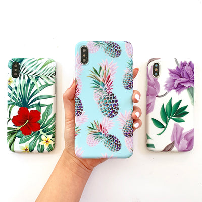 Purple Floral Dream Phone Case