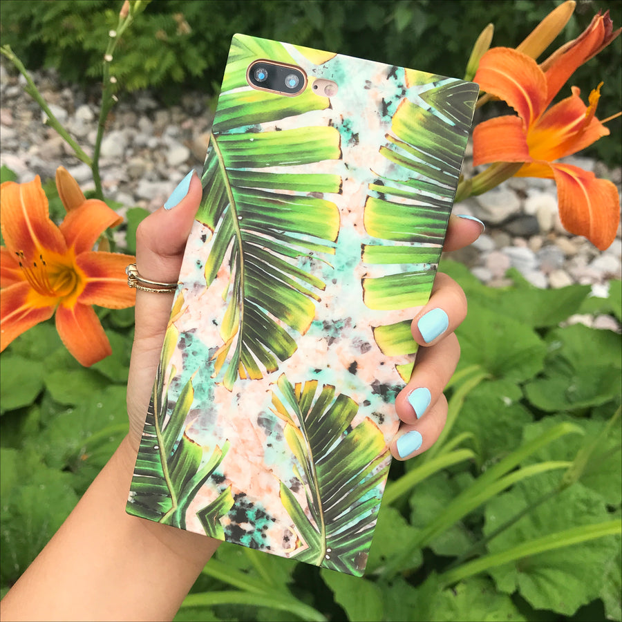 Tropical Palms Box Phone Case