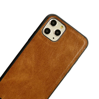 Ultra Slim Wristlet Phone Case in Brown