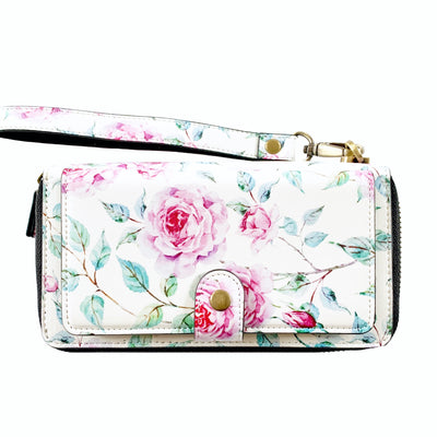 Ultimate Wristlet Phone Case in Dream Rose