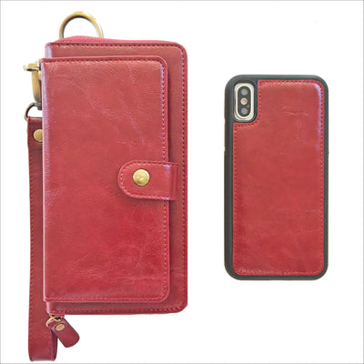Ultimate Wristlet Phone Case in Wine