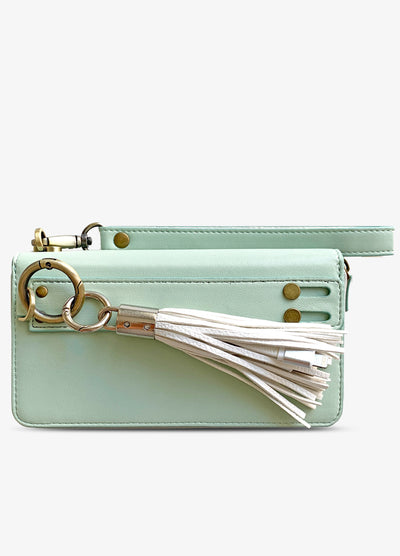 Ultimate Wristlet Phone Case in Mint