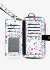 Ultimate Wristlet Phone Case in Sweet Blossoms