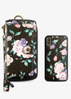 Ultimate Wristlet Phone Case in Midnight Floral