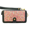 Ultimate Wristlet Phone Case in Rainbow Glitter