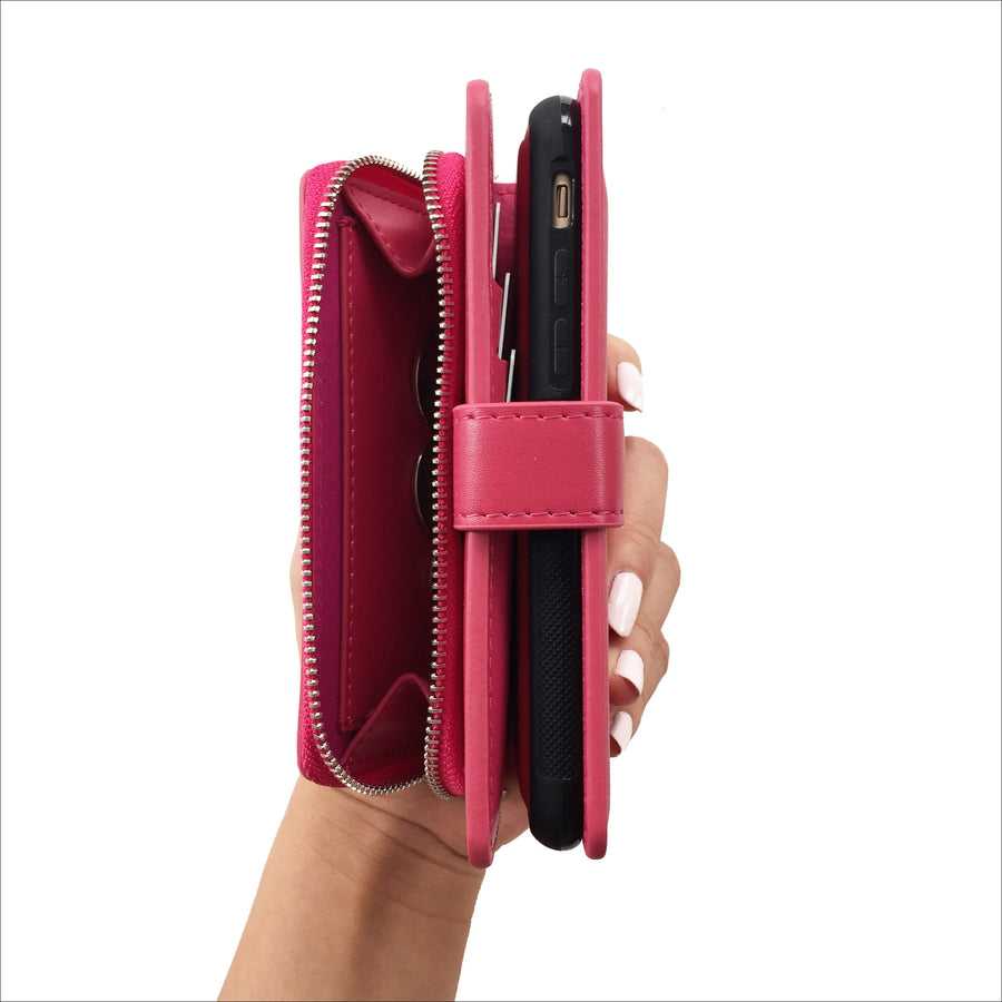 Ultimate Mini Wallet Case in Berry