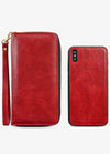 Ultra Slim Wristlet Phone Case in Red