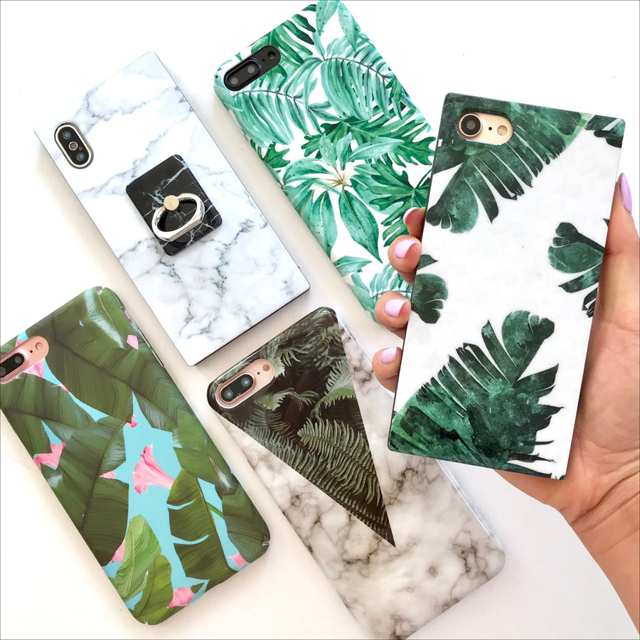 Palm Leaves Box Phone Case