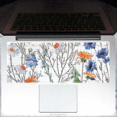 Macbook Case & Keyboard Set - Wildflower