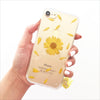 Pressed Yellow Daisy Tassel Phone Case