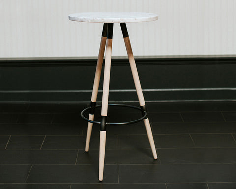 Marble Top Cocktail Table
