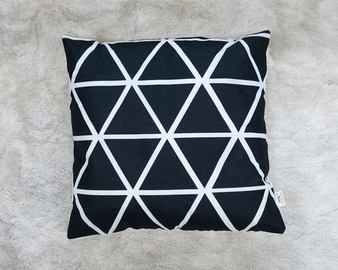 Black & White Pattern Pillows
