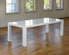 8' White Lacquer - Dining Tables