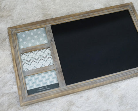Picture Frame & Chalkboard