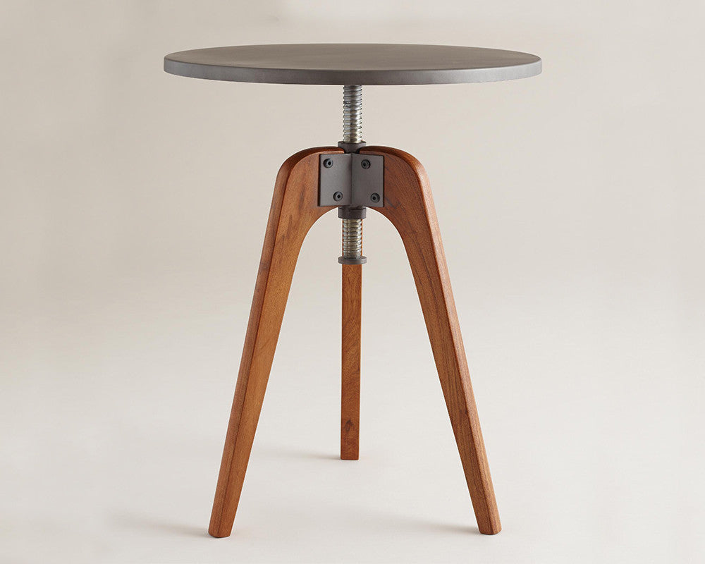 Attrayant Adjustable Industrial Side Tables