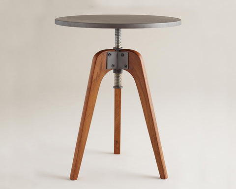 Adjustable Industrial Side Tables