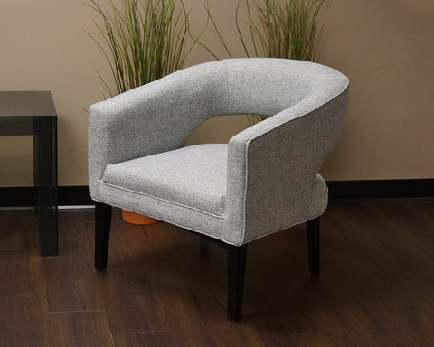Modern Gray Arm Chair